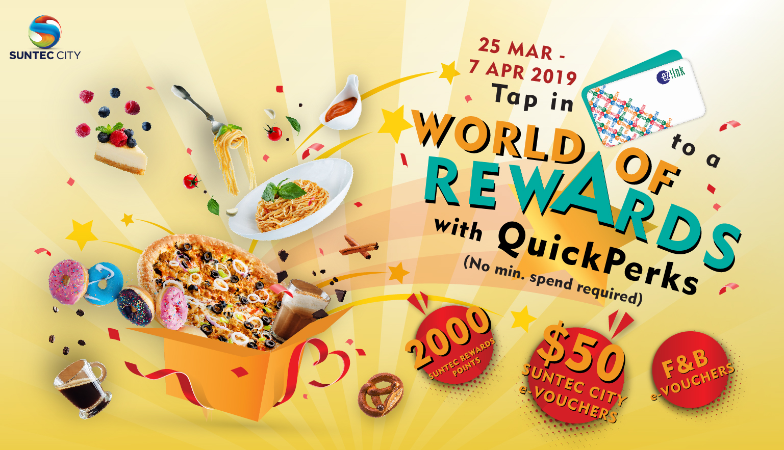 eb7c7ca5c05448 Stand to win up to  50 Suntec City e-voucher when you tap in at Suntec  City s QuickPerks Kiosk with no purchase required!